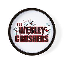 Wesley Crushers Wall Clock