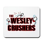 Wesley Crushers Mousepad - Be a part of the best bowling team for geeks - The Wesley Crushers! This merchandise will make a bang with your friends. A big one. In theory.