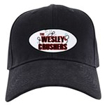 Wesley Crushers Black Cap - Be a part of the best bowling team for geeks - The Wesley Crushers! This merchandise will make a bang with your friends. A big one. In theory.