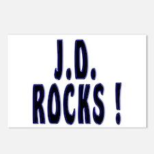 J.D. Rocks ! Postcards (Package of 8)
