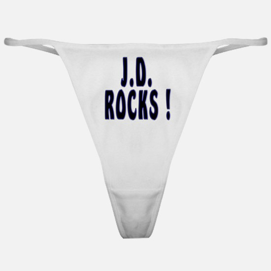 J.D. Rocks ! Classic Thong