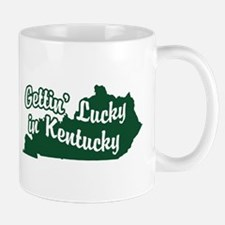 Gettin' Lucky in Kentucky Mug