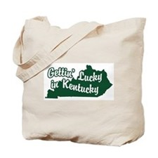 Gettin' Lucky in Kentucky Tote Bag