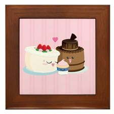 Cake Family Framed Tile