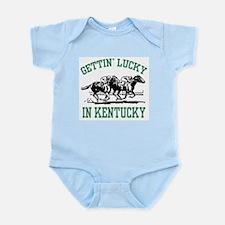 Gettin' Lucky in Kentucky Infant Bodysuit