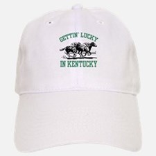 Gettin' Lucky in Kentucky Baseball Baseball Cap