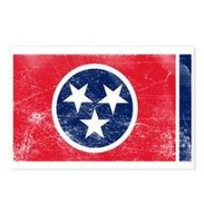 Vintage TN State Flag Postcards (Package of 8)