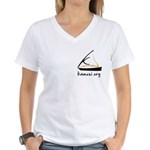 kamusi.org Women's V-Neck T-Shirt