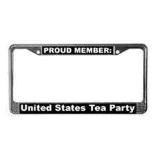 US Tea Party License Plate Frame