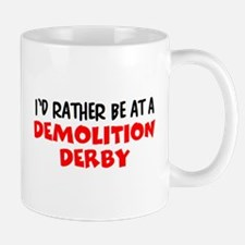 demolition derby Mug