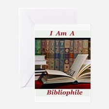 Bibliophile 2 Greeting Card