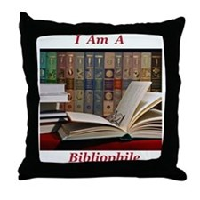 Bibliophile 2 Throw Pillow