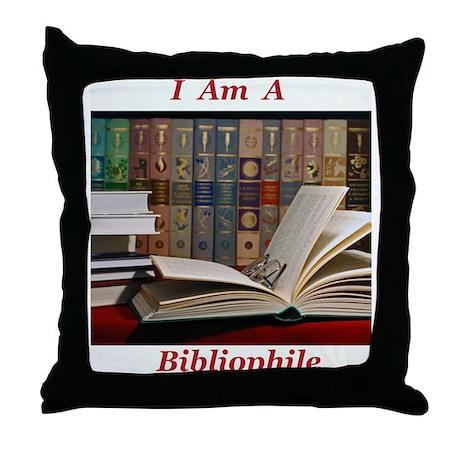 Bibliophile 2 Throw Pillow