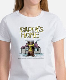 Daddy's Home Yellow Ribbon Women's T-Shirt