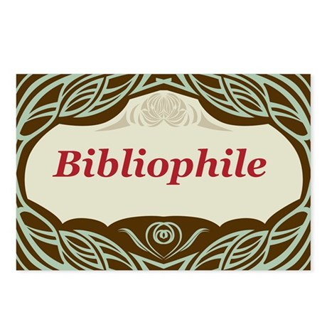 Bibliophile 3 Postcards (Package of 8)