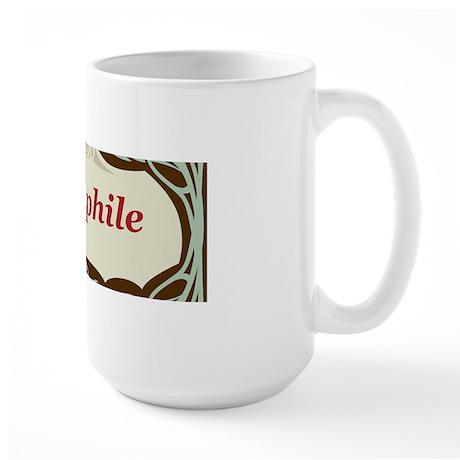 Bibliophile 3 Large Mug