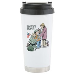 Daddy's Home! Stainless Steel Travel Mug