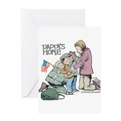 Daddy's Home! Greeting Card