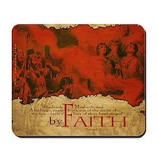 By Faith: Shadrach, Meshach, Abednego (Mousepad)