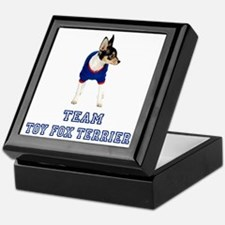 Team Toy Fox Terrier Keepsake Box