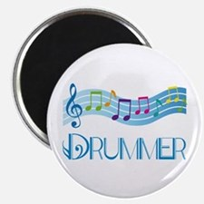 Colorful Music Drummer Magnet