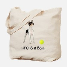 Toy Fox Terrier Life Tote Bag
