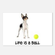 Toy Fox Terrier Life Postcards (Package of 8)