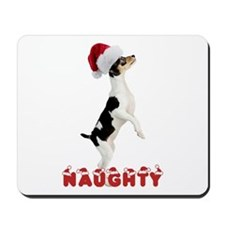 Naughty Toy Fox Terrier Mousepad
