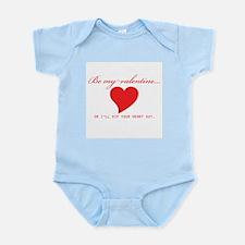 Anti-Valentine Infant Creeper