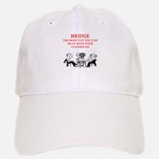 duplicate bridge player joke Baseball Baseball Cap