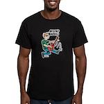My Dad ROCKS Men's Fitted T-Shirt (dark)