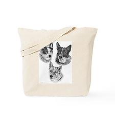 Peaches Mick & Mattie Tote Bag