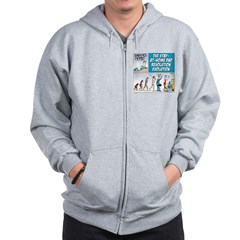 Stay-at-Home Dad Evolution Zip Hoodie
