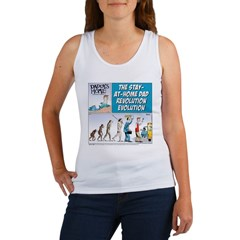 Stay-at-Home Dad Evolution Women's Tank Top