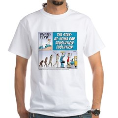 Stay-at-Home Dad Evolution Shirt