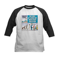 Stay-at-Home Dad Evolution Tee