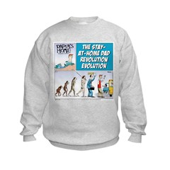 Stay-at-Home Dad Evolution Sweatshirt