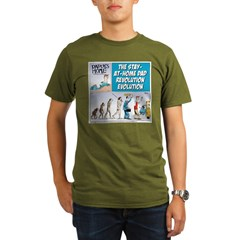 Stay-at-Home Dad Evolution T-Shirt