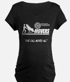 Orchid Movers LOST Black T-Shirt