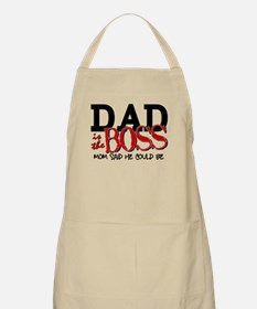 Dad is the Boss Apron