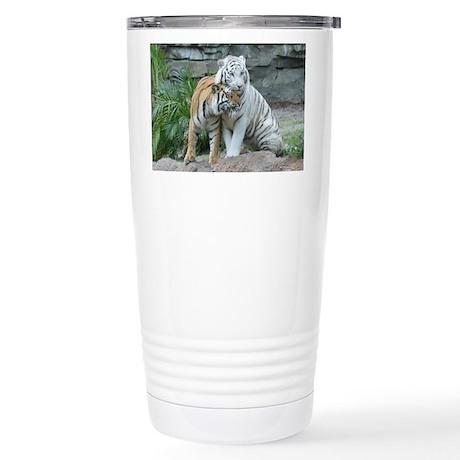 Stainless Steel Travel Mug-Tigers
