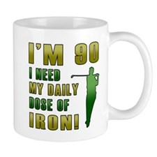 90th Birthday Golf Humor Mug