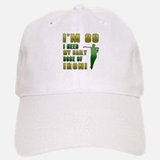 80th Birthday Golf Humor Baseball Baseball Cap