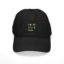 75th Birthday Golf Humor Baseball Hat