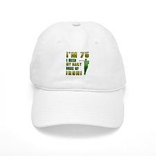75th Birthday Golf Humor Baseball Cap