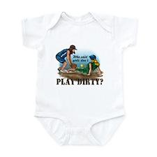 Girls Play Dirty Infant Bodysuit