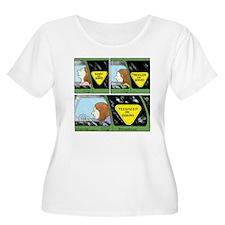 On Board Women's Plus Size Scoop Neck T-Shirt