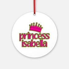 Princess Isabella Ornament (Round)