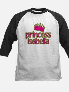 Princess Isabella Kids Baseball Jersey