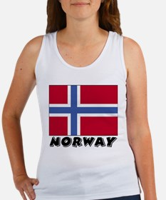 Norway Flag (World) Women's Tank Top